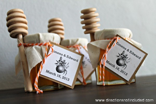 A Sweet Treat Honey Wedding Favors UPDATED