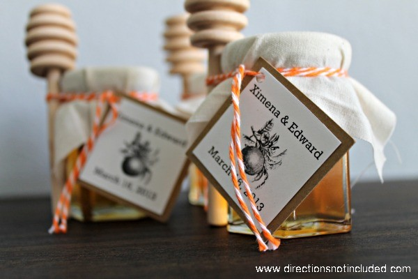 Honey Wedding Favors 2