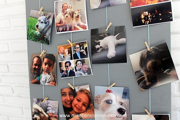 DIY Instagram Photo Display - Directions Not Included
