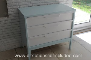 Painted Midcentury Modern Furniture - Directions Not Included