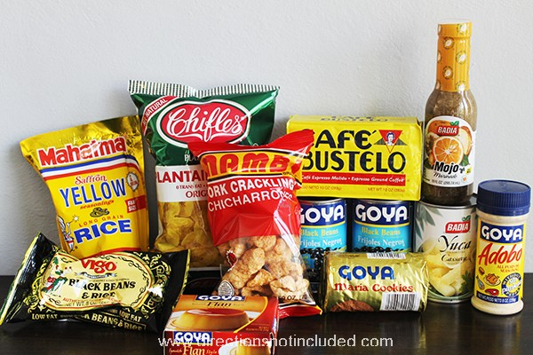 Cuban Food Care Package 1