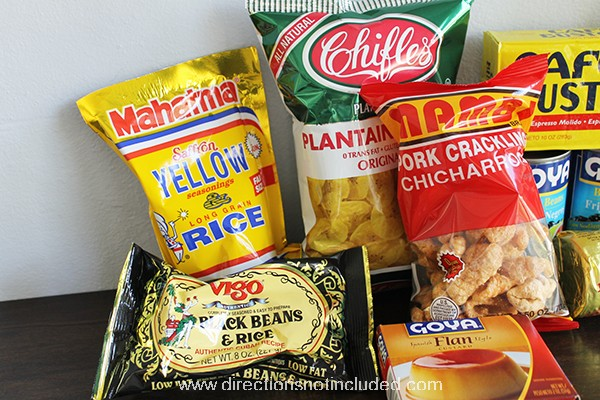 Cuban Food Care Package 2