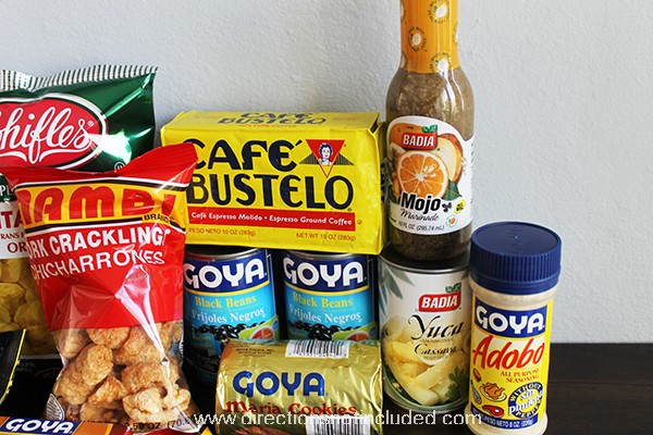 Cuban Food Care Package 3