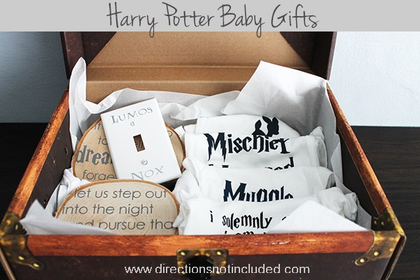 Harry Potter Baby Gifts | A gift box from Directions Not Included