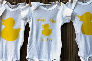 What The Duck Is It Baby Shower & Gender Reveal