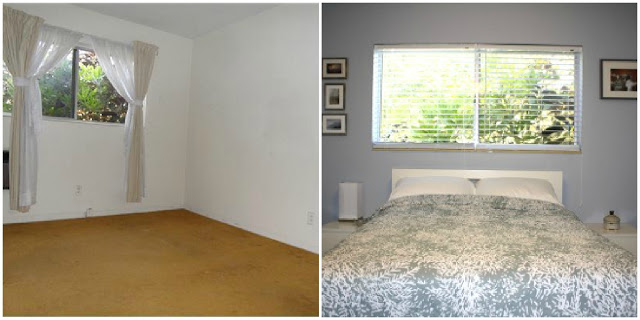 Guest Room Before and After - Directions Not Included