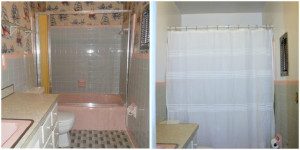 Pirate Bathroom Before and After - Directions Not Included