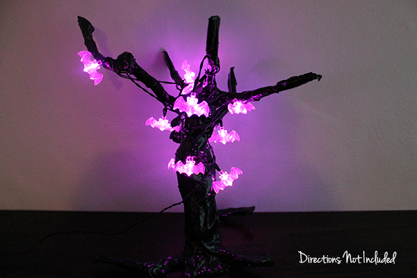 DIY Halloween Tree - Directions Not Included