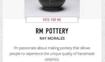 RM Pottery - Martha Stewart American Made Awards